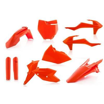 Acerbis Plastik Kit FULL Komplett für KTM SX/SXF 2016 orange flou