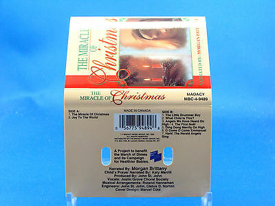 MORGAN BRITTANY - The Miracle Of Christmas - 1995 EXCELLENT CONDITION CASSETTE