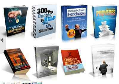 20 Inspirational Motivational PDF eBooks Free Shipping With Master Resell Rights