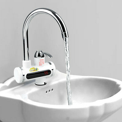 2000w Digital Electric Instantly Hot Water Heater Faucet Kitchen Tools