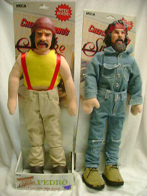 Cheech and Chong Up in Smoke Push Dolls by Neca