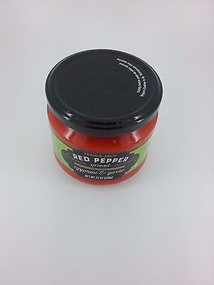 Trader Joe's red pepper spread eggplant and garlic 12oz