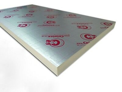 Celotex / Recticel insulation board 2400x1200 Cost Per Sheet {select thickness}
