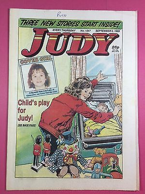 JUDY - Stories For Girls - No.1547 - September 2, 1989 - Comic Style Magazine
