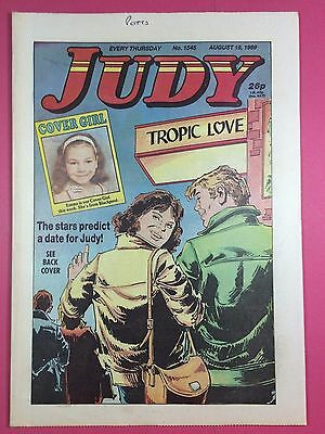 JUDY - Stories For Girls - No.1545 - August 19, 1989 - Comic Style Magazine
