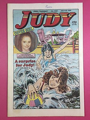 JUDY - Stories For Girls - No.1542 - July 29, 1989 - Comic Style Magazine