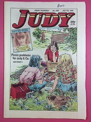 JUDY - Stories For Girls - No.1541 - July 22, 1989 - Comic Style Magazine