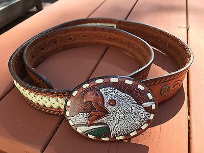 Native South American Leather Belt
