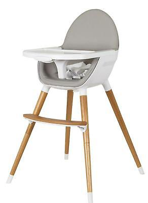 Childcare The Pod Timber High Chair (Natural) Free Shipping!