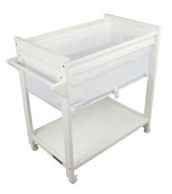 Childcare Universal Crib (White)