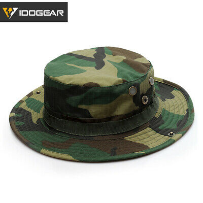 0474bb18a8e5a7 EMERSON Tactical Boonie Hat Fishing Hat Sun Hat Camo Airsoft Gear Hunting  Duty