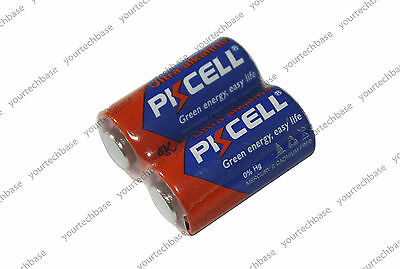 2x 4LR44 High Capacity Alkaline Batteries Battery 476A A544 PX28 4G13 L1325