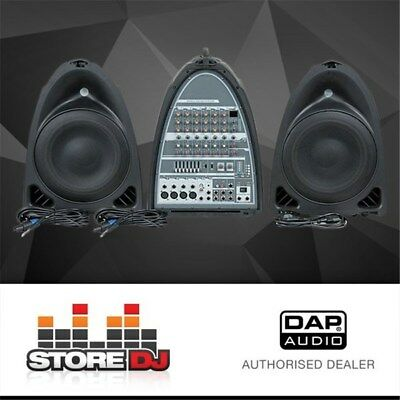 DAP Audio Entertainer Mobile Set Basic All-In-One Portable PA System w/ USB MP3