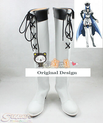Hot Sale Akame ga Kill! Chelsea Boot Party Shoes Cosplay Boots Custom-made