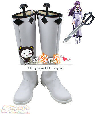 Hot Sale Akame ga Kill! Sheele Boot Party Shoes Cosplay Boots Custom-made