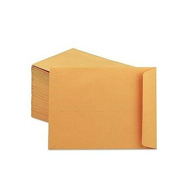 "Universal Catalog Envelope Center Seam 9"" x 12"" Light Brown 250 Count"