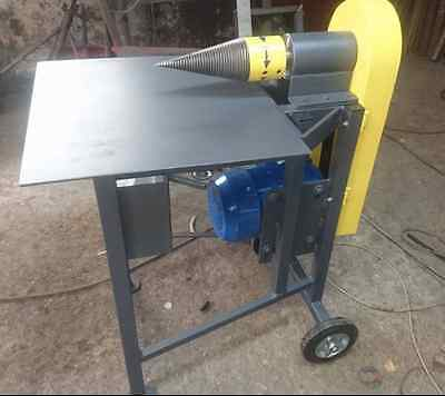 New Heavy Duty Log Splitter Electric  15 Ton Wood Timber Cutter