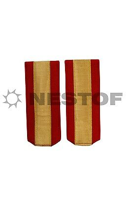 Russian Ww1 Warrant Officers Red Shoulder Boards Russian Made Free Shipping