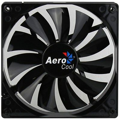 Aerocool Dark Force Lüfter, schwarz - 140 mm, 1.200 rpm 22 dB(A)