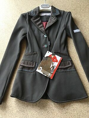 Animo Pony Division Show Jacket I-32 Age 8-9 Brand New