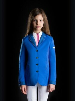 Animo Lila Show Competition Jacket BN Age 8 Bluette
