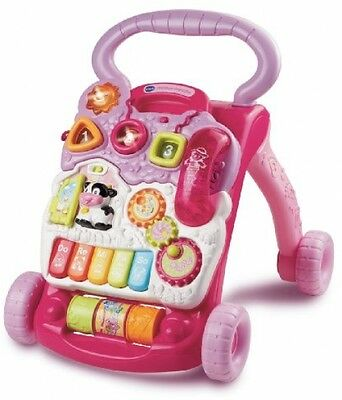 Baby First Steps For Her Girls Toddler Baby Walker Educational Walking Toy New