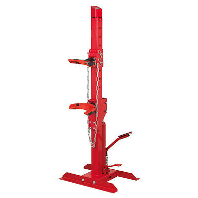 Sealey RE2311 Coil Spring Compressing Station with Gauge Hydraulic 2000kg