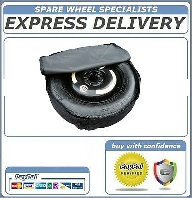 """Mercedes E Class 2008-Present Day 17"""" Space Saver Spare Wheel And Cover Bag"""