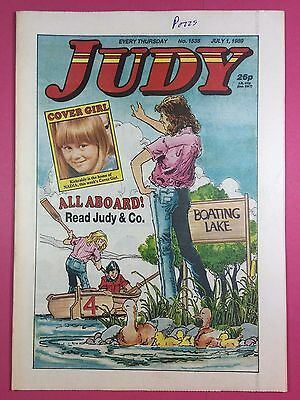 JUDY - Stories For Girls - No.1538 - July 1, 1989 - Comic Style Magazine