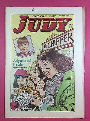 JUDY - Stories For Girls - No.1537 - June 24, 1989 - Comic Style Magazine