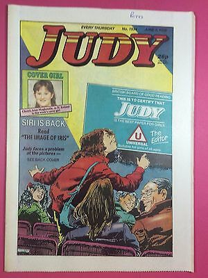JUDY - Stories For Girls - No.1534 - June 3, 1989 - Comic Style Magazine