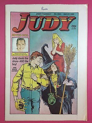 JUDY - Stories For Girls - No.1533 - May 27, 1989 - Comic Style Magazine