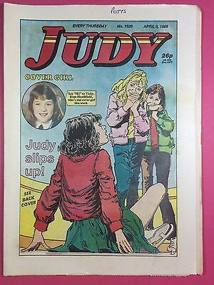 JUDY - Stories For Girls - No.1526 - April 8, 1989 - Comic Style Magazine