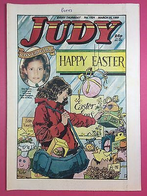 JUDY - Stories For Girls - No.1524 - March 25, 1989 - Comic Style Magazine