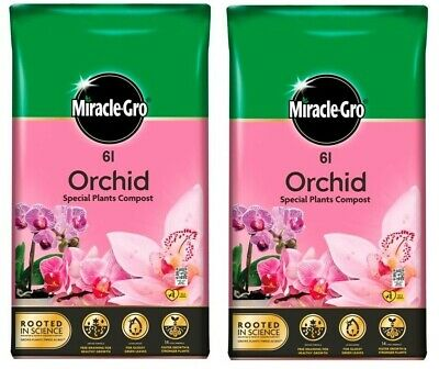 LEVINGTON ORCHID COMPOST 8l Perfect Compost To Repot Or Top Up Your Orchid