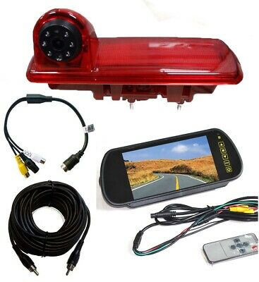 Renault Trafic Reversing Camera Kit For Brake Light Integration (2014 -Present)