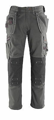 Mascot Lindos Craftsmens Mens Workwear Trousers Grey Trousers Snickers Direct