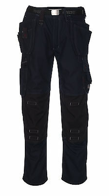 Mascot Lindos Craftsmens Mens Workwear Trousers Navy Trousers Snickers Direct