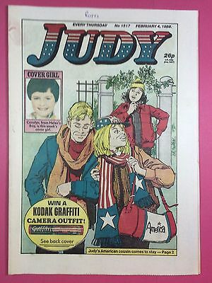 JUDY - Stories For Girls - No.1517 - February 4, 1989 - Comic Style Magazine