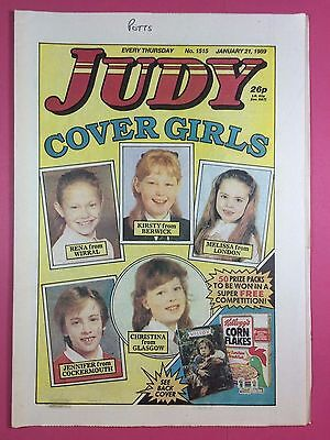 JUDY - Stories For Girls - No.1515 - January 21, 1989 - Comic Style Magazine
