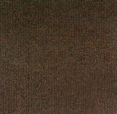 """NEW Carpet Tiles 12"""" x 12"""" Peel and Stick 100 Sq Ft Square Feet - BROWN"""