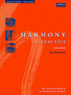 Anna Butterworth: Harmony In Practice (Answer Book) Theory/Sheet Music