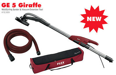 Flex GE 5 + SH +TB Giraffe Drywall Sander w/ 12ft Hose and Carry Bag and VAC