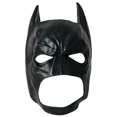 DC Licensed Deluxe DARK KNIGHT Batgirl BATMAN 3/4 Mask COWL Costume Prop COSPLAY