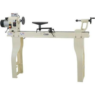 "Shop Fox W1758 16"" x 43"" Wood Lathe with Stand and DRO (New in Box)"