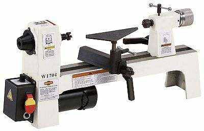 Shop Fox W1704 1/3 HP Benchtop Lathe (New in Box)