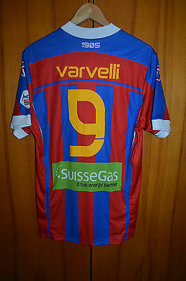 Chiasso Switzerland Match Issue Football Shirt Jersey Primato #9 Varvelli