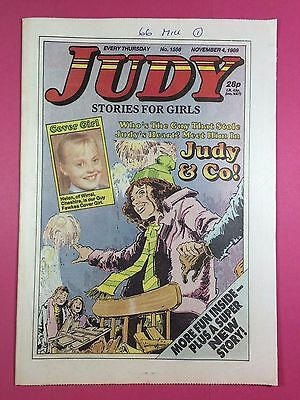 JUDY - Stories For Girls - No.1556 - November 4, 1989 - Comic Style Magazine