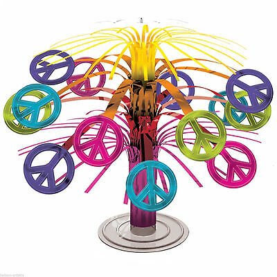Amscan 19 cm 60s Groovy Mini Centrepiece Decoration - New & Sealed