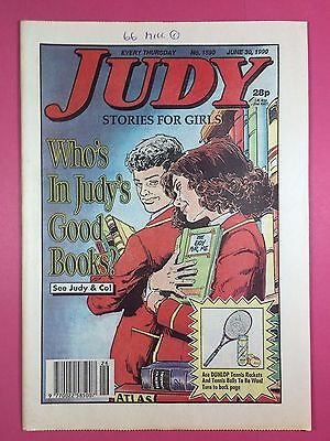 JUDY - Stories For Girls - No.1590 - June 30, 1990 - Comic Style Magazine